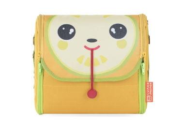 Żółta torba na lunch dla dzieci Lou