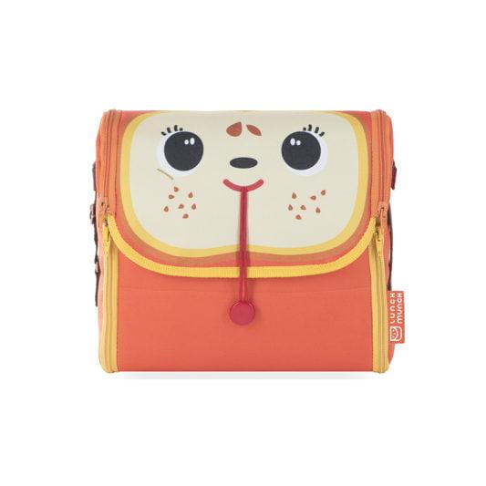 Pomarańczowa torba na lunch dla dzieci Paula