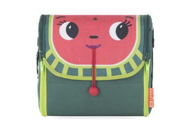 Zielona torba na lunch dla dzieci Wendy z przodu