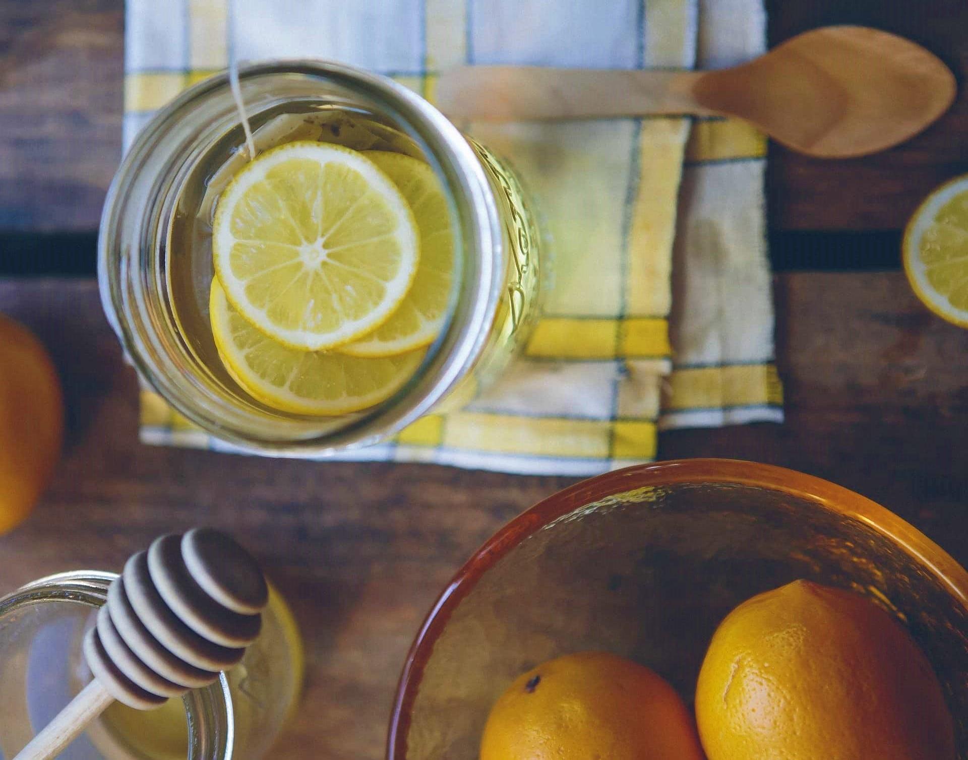 domowa lemoniada dla dzieci