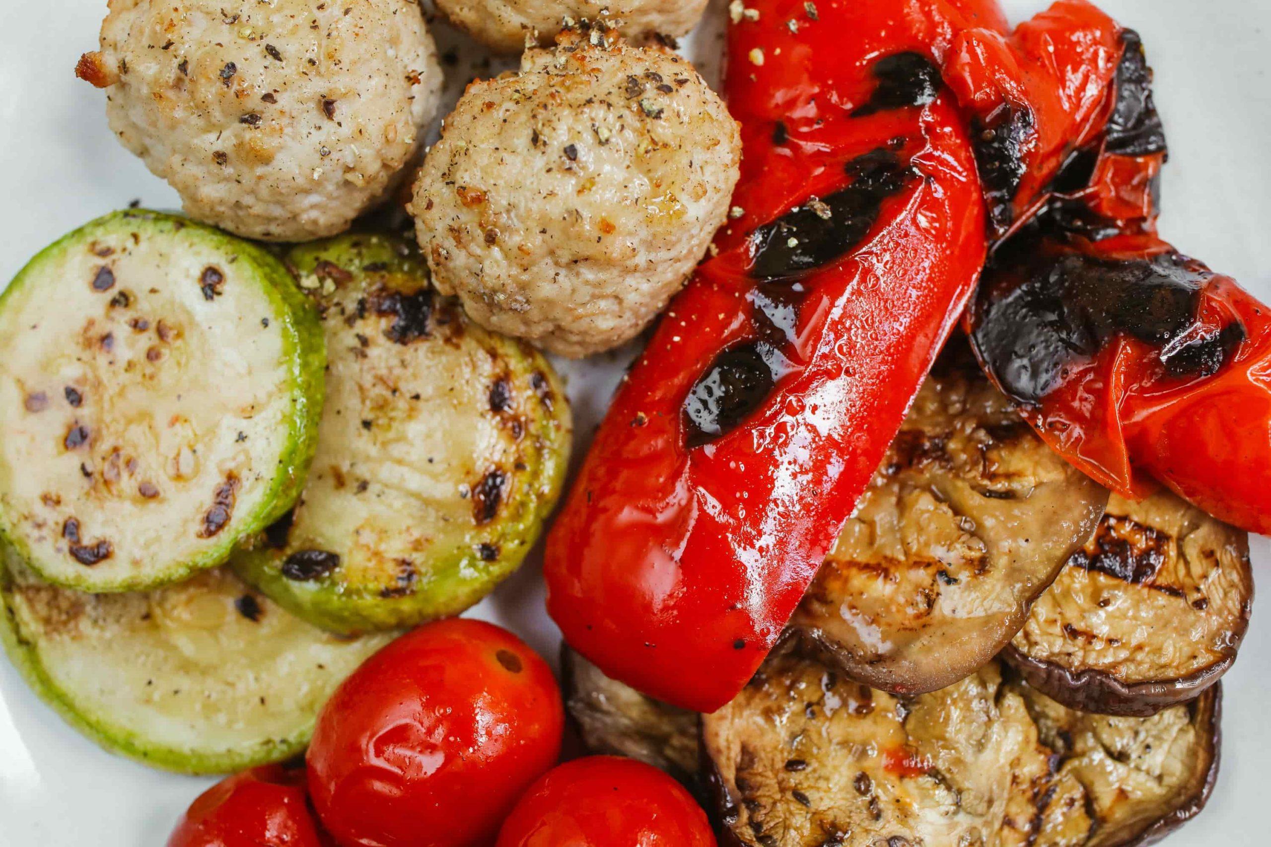 grillowane warzywa dla dzieci