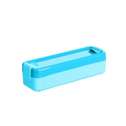 niebieski pojemnik na jedzenie lunchbox