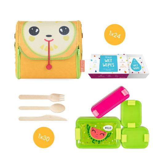 zestaw lunch box Lou Wendy od lunch munch