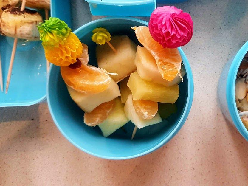 Gotowanie dla dzieci - owocowe szaszłyki