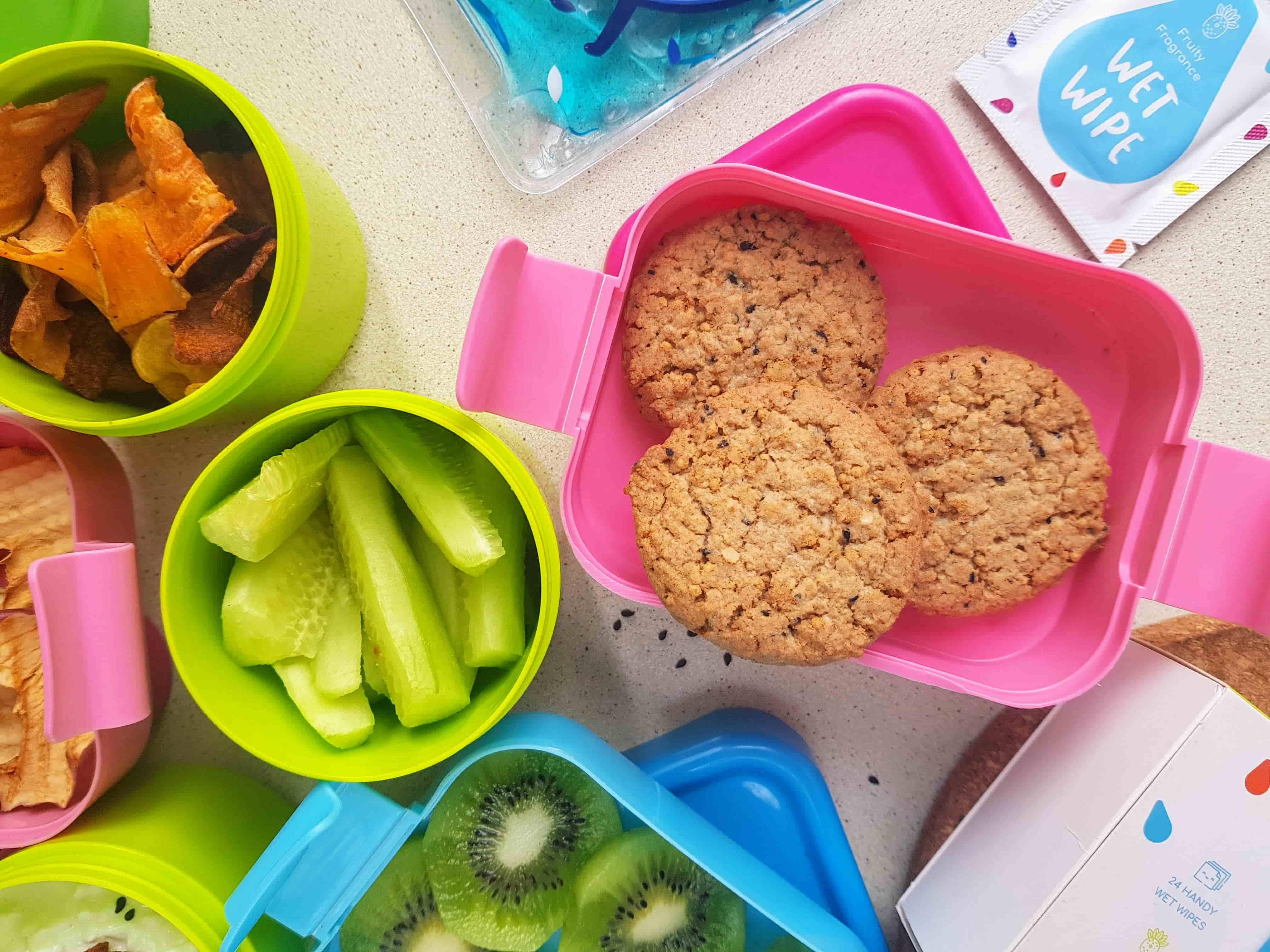Zdrowe przekąski dla dzieci ciastka jaglane