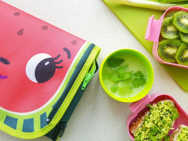 Zielone jedzenie - zupa krem z zielonego ogórka