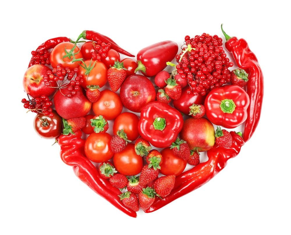 czerwone jedzenie challenge