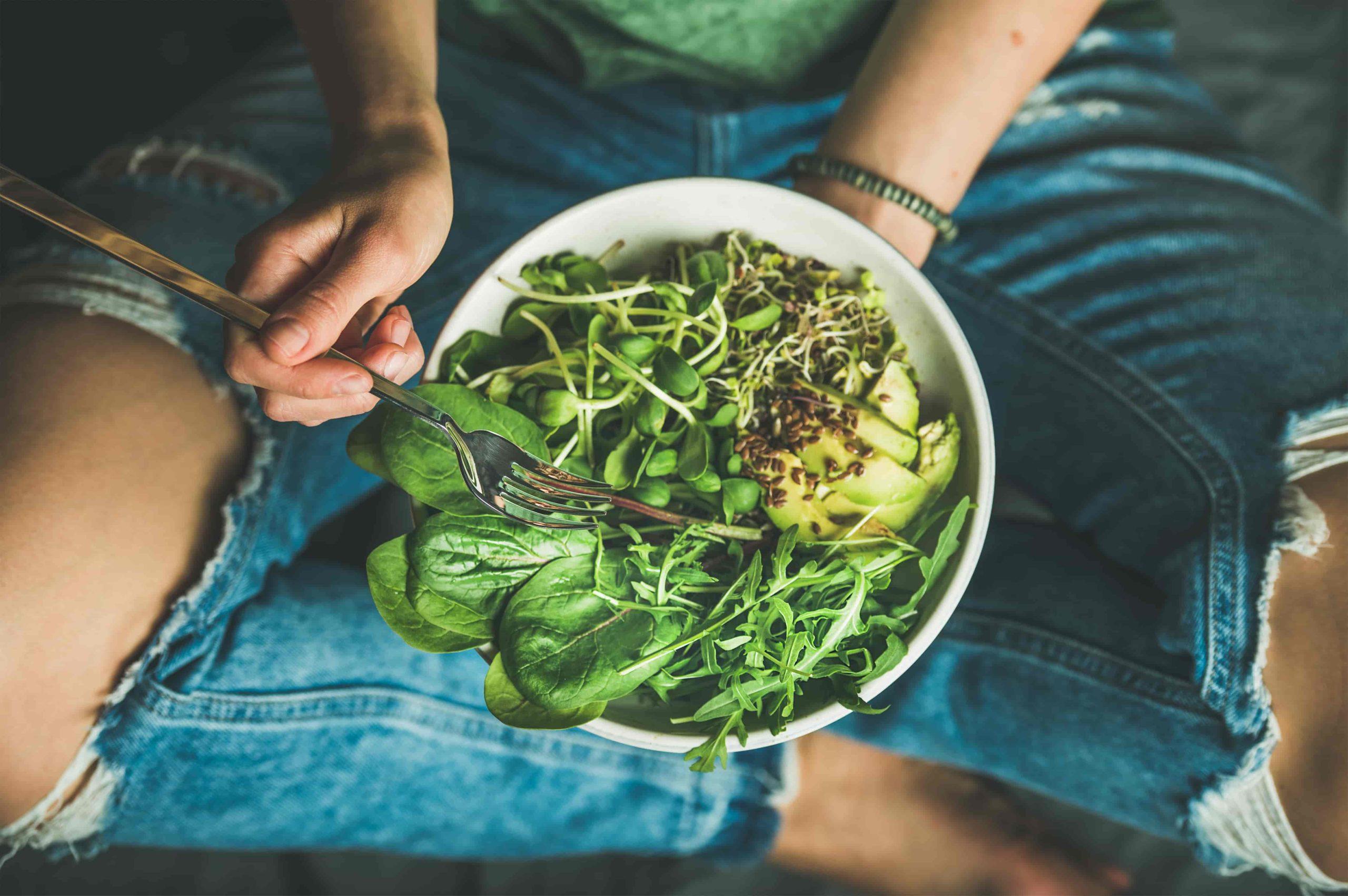 zielone jedzenie challenge
