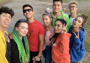 Sebastian Kowalczyk szkoła tańca na letnim obozie