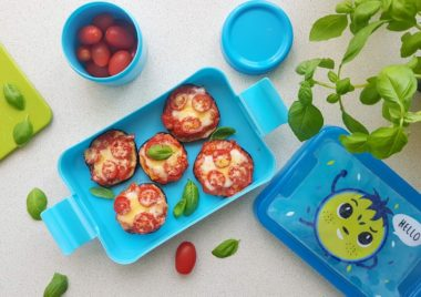 mini pizzerinki od LUNCH MUNCHowego Taty