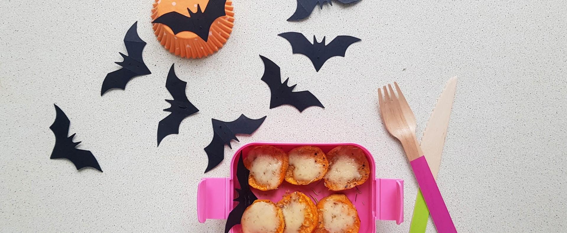 Pieczone bataty dla dzieci Halloweenowe talarki na strrrraszną imprezkę