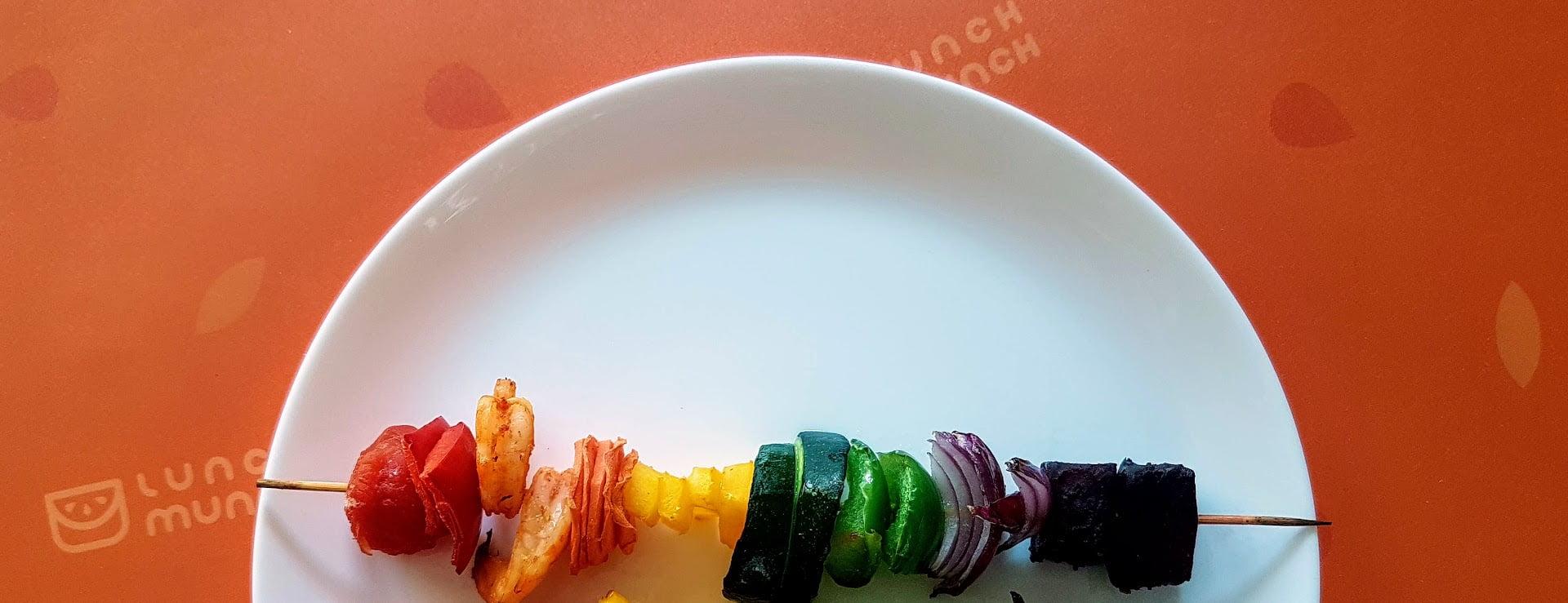szaszłyki dla dzieci warzywo owocowa przekąska