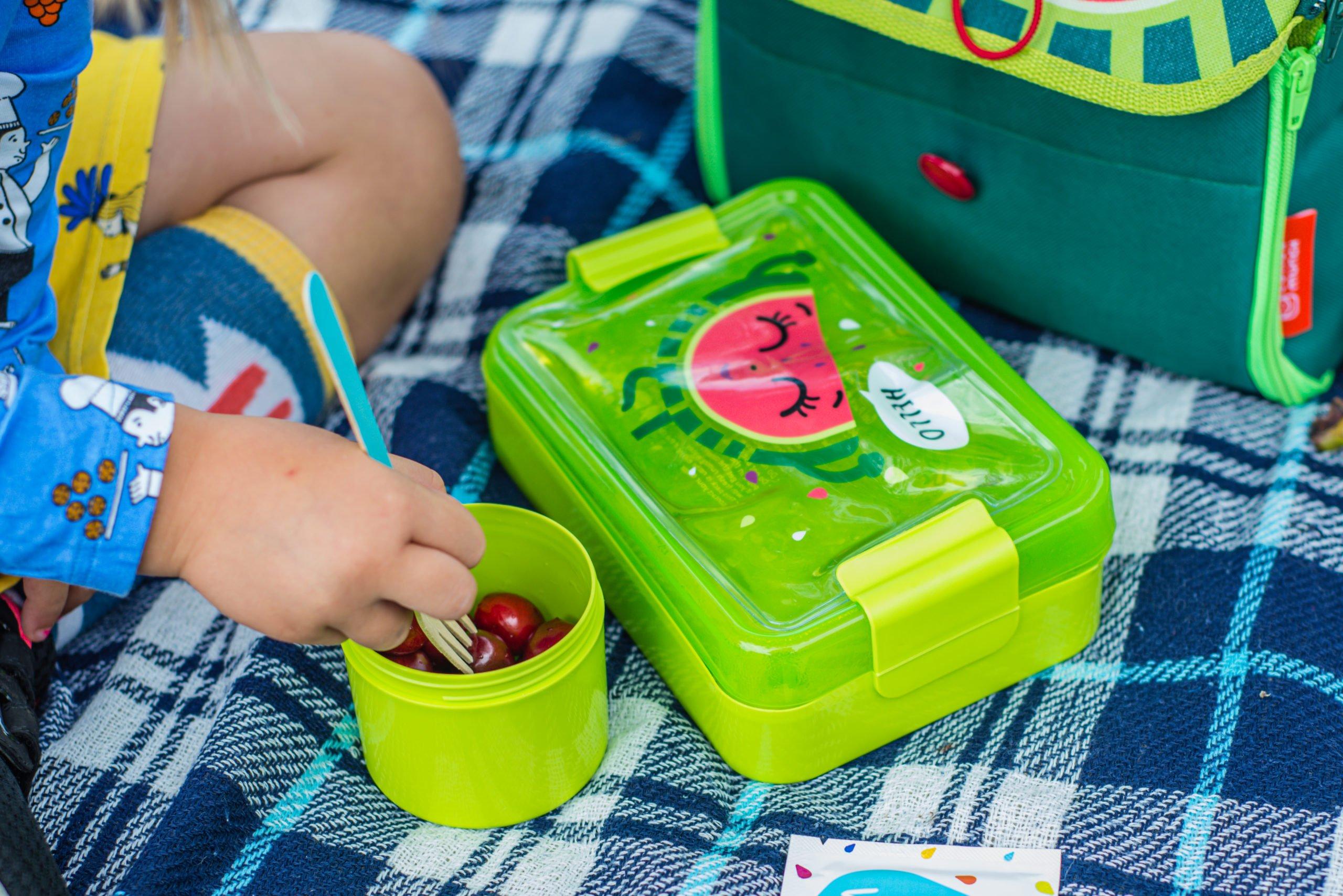 Śniadaniówka dla dziewczynki torba lunch box