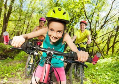 wycieczka rowerowa z dzieckiem
