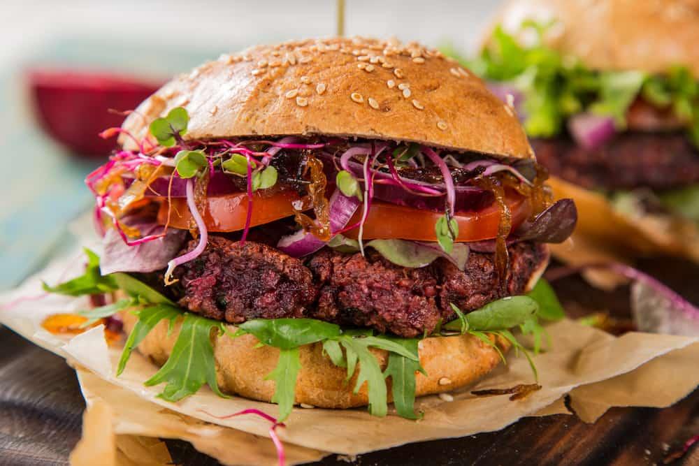 kotlety z burakow i kaszy jaglanej do vege burgera