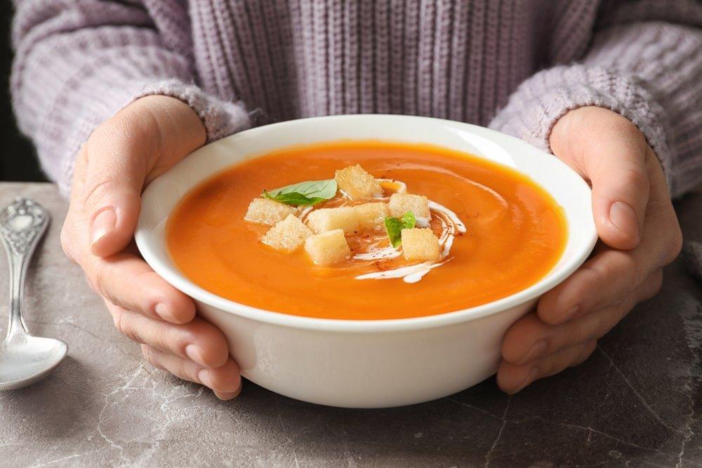 zupa krem z dyni na jesien