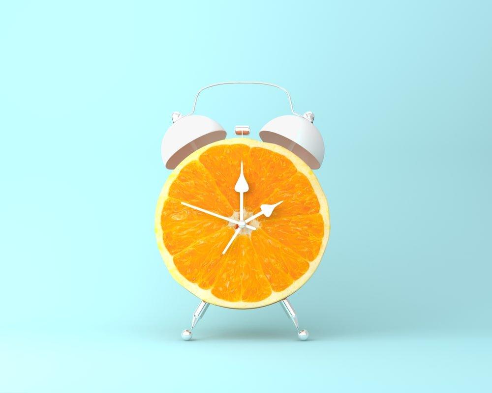 pomaranczowe jedzenie jem przez 24 godziny