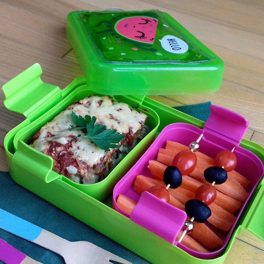 zapiekanka z cukinii i ziemniakow do lunch boxa