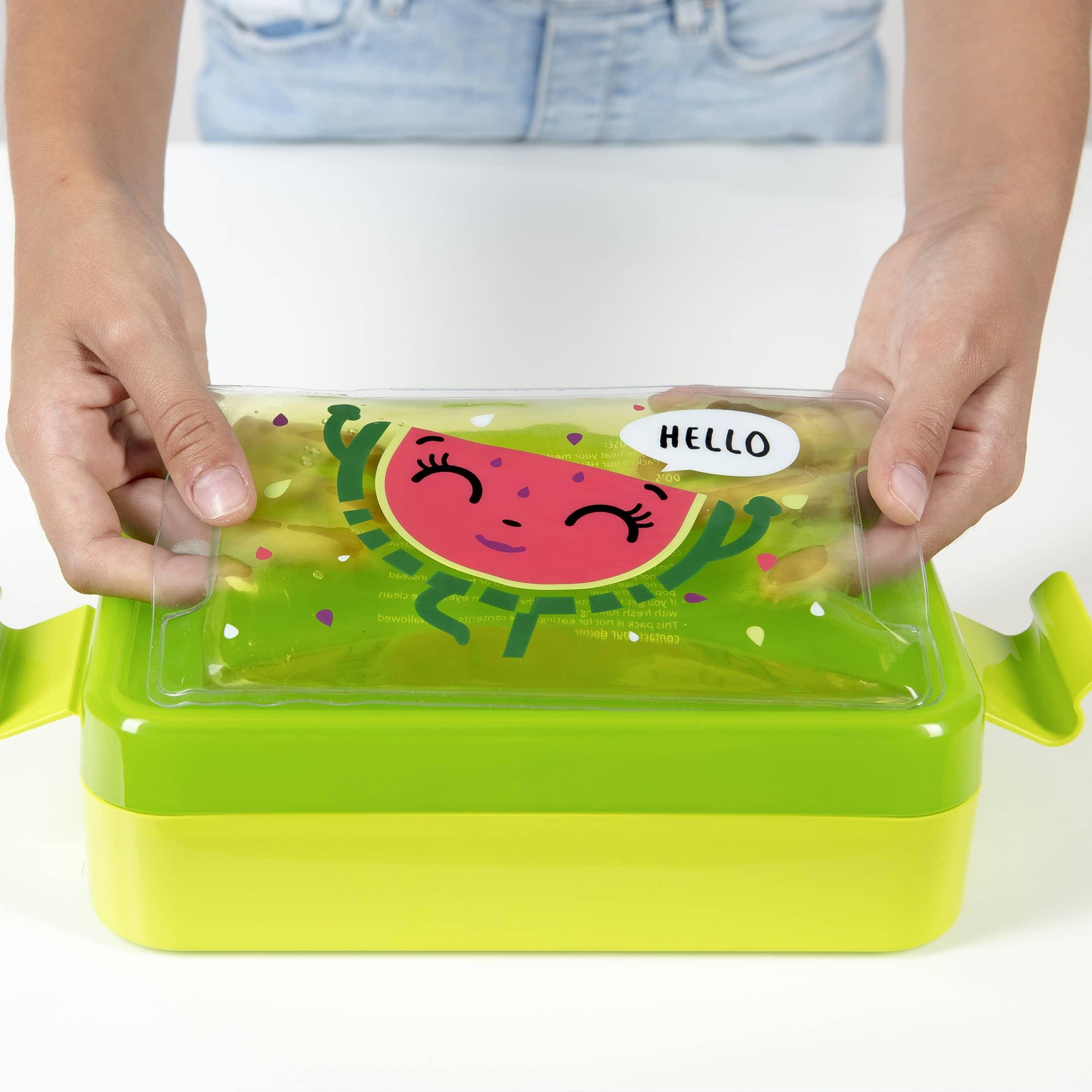 lunchbox dla dzieci z zelem