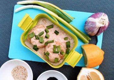 pulpeciki z indyka w sosie dla dziecka