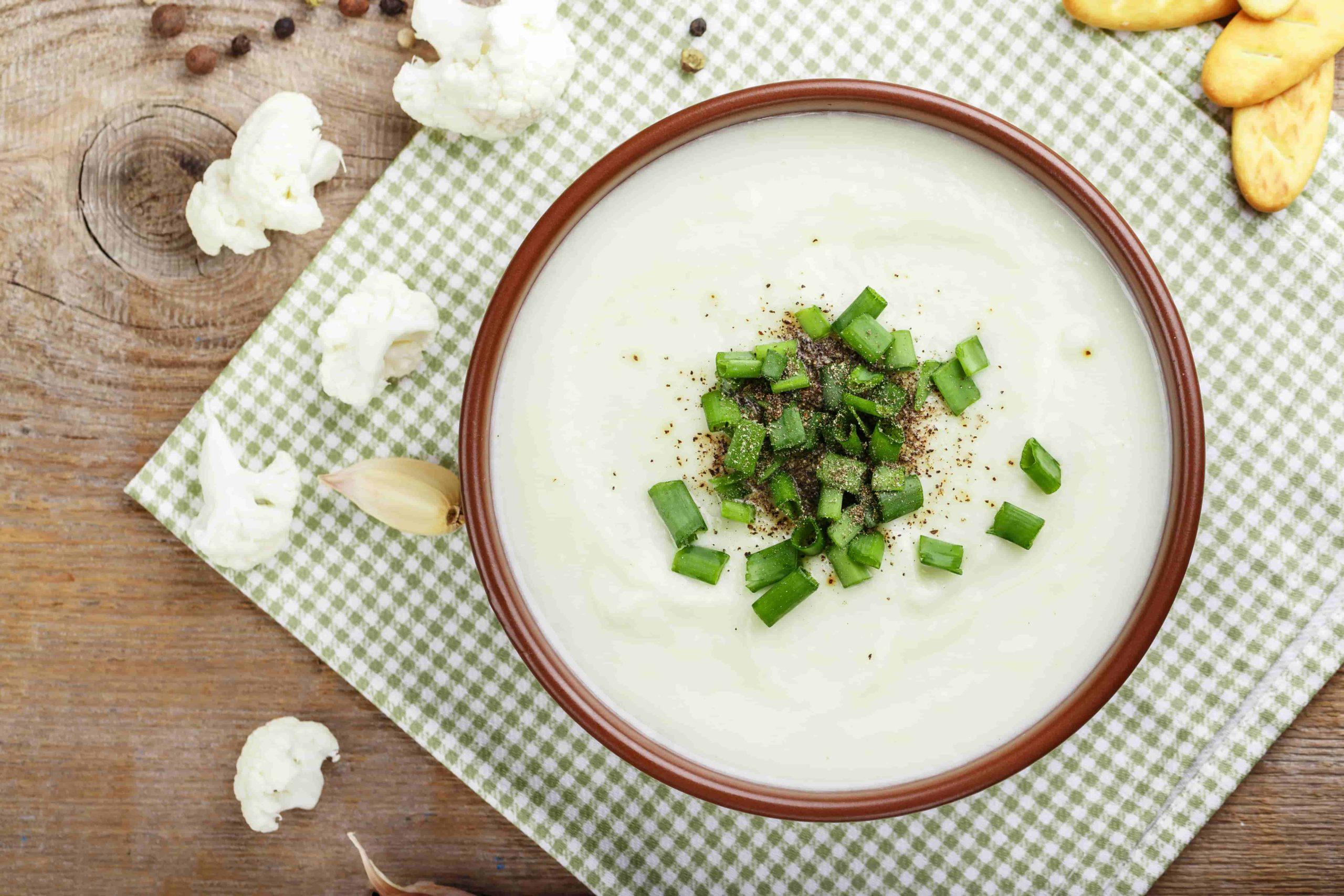 zupa kalafiorowa przepis dla dzieci