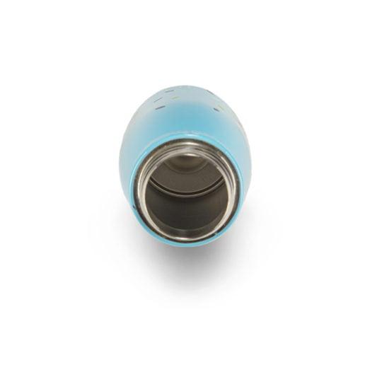 Niebieski bidon termiczny dla dzieci HELLO BILL! z gory