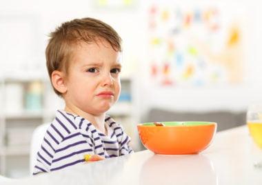 dziecko nie chce jesc w szkole