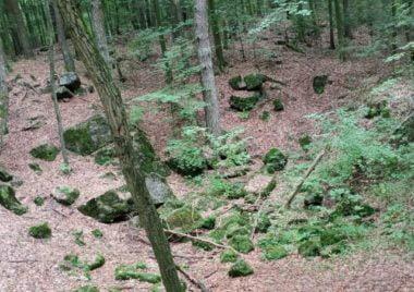 Urokliwe miejsce w pobliżu jaskini Raj