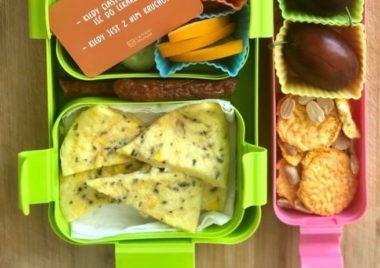 omlet dla dziecka na śniadanie przepis