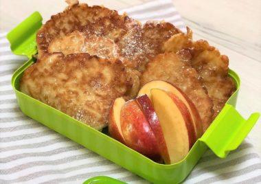 racuchy z jablkami bez drozdzy